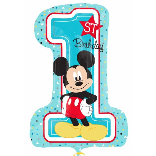 Mickey Mouse 1st Birthday SuperShape